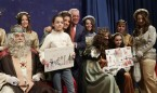 Sánchez Martos y los Reyes Magos reparten premios a niños hospitalizados