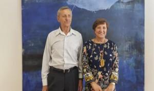 Sanidad agradece a Gandarillas su medio siglo al servicio de los donantes