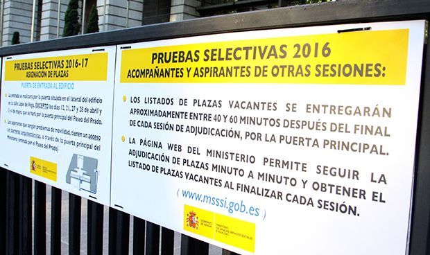 Sanidad consolida las plazas y resultados definitivos del MIR 2018