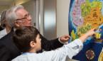 Sanidad convierte Pediatría del Infanta Sofía en una 'Tierra Encantada'