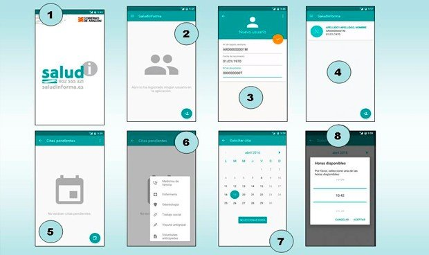 Sanidad crea una 'app' para pedir cita en Atención Primaria