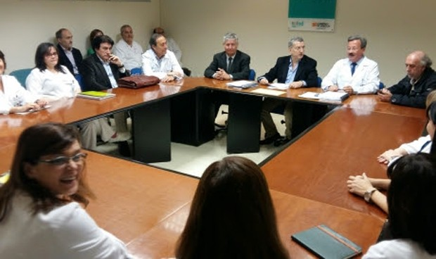 Sanidad firma con los profesionales los contratos de gestión