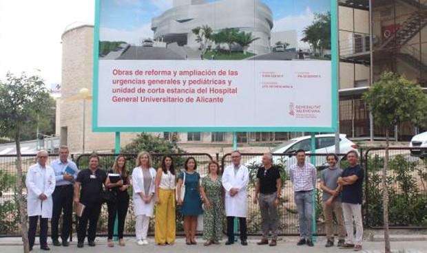 Sanidad firma el inicio de la reforma de Urgencias del General de Alicante
