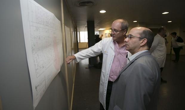 Sanidad inicia la ampliación de las Urgencias del Hospital Insular