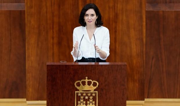 Sanidad, única consejería con cartera exclusiva del nuevo Gobierno de Ayuso