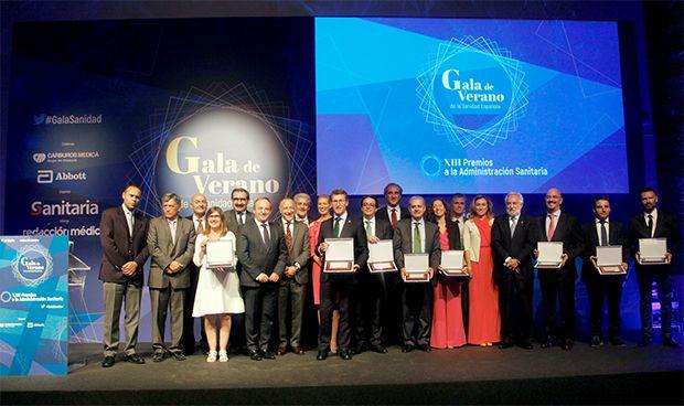 Sanitaria 2000 premia a los mejores gestores de la sanidad española