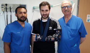 Sanitas acorta la recuperación de sus pacientes con férulas 3D