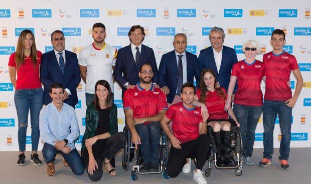 Sanitas renueva su acuerdo con los deportistas olímpicos y paralímpicos