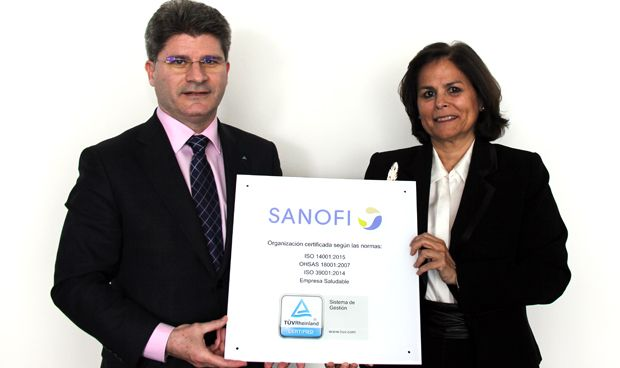 Sanofi certifica su trabajo por el medio ambiente y las mejoras laborales