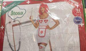 """Satse clama contra Alcampo por su """"indignante"""" disfraz de enfermera"""