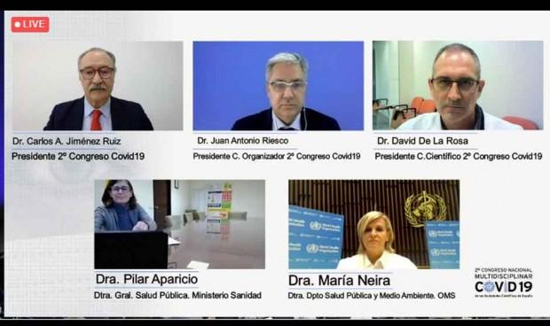 """Un congreso para """"promover un mejor conocimiento común sobre la pandemia"""""""