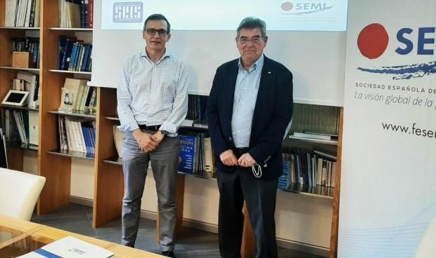 SEMI y SEIS firman un convenio que impulsa la salud digital en España