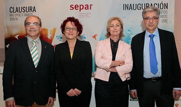Separ inaugura su año dedicado a los 12 retos de la Neumología y pacientes