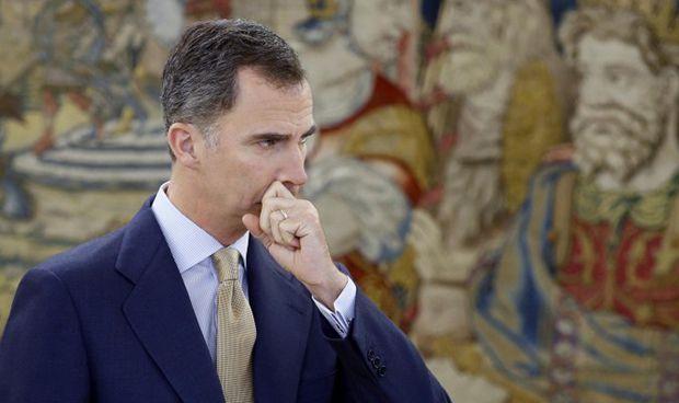 Serafín Romero se presenta ante el Rey, cinco meses después
