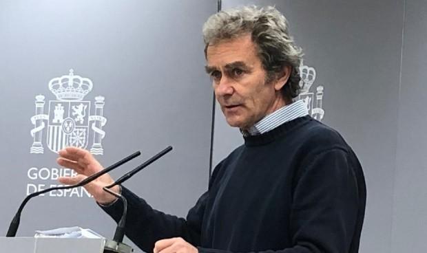 Simón regresa a la reunión diaria en La Moncloa tras 15 días en cuarentena