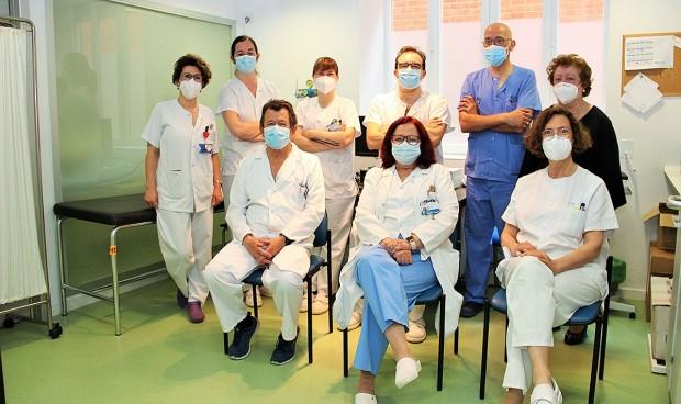 Sobresaliente para la unidad de riesgo vascular del Clínico San Carlos