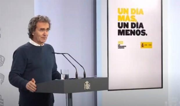 Solidarias palabras de Fernando Simón tras ganar un importante premio