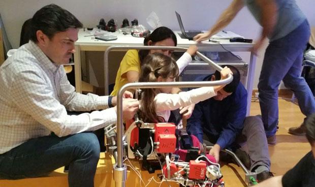 Solo un centro ortop�dico ayudar� a lanzar el primer exoesqueleto infantil