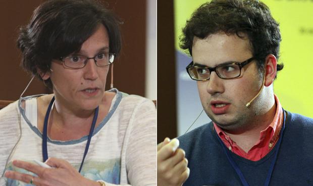 Sonia Fernández-Arruti y Leonardo Caveda González