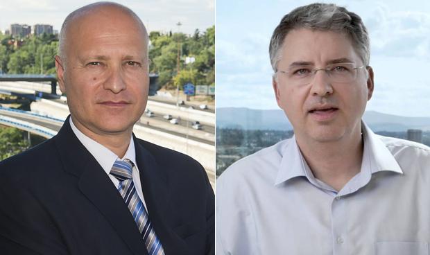 Stefanos Tsamousis y Severin Schwan