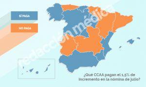 Subida salarial del 1,5% en sanidad: si vives en estas CCAA, mira tu cuenta