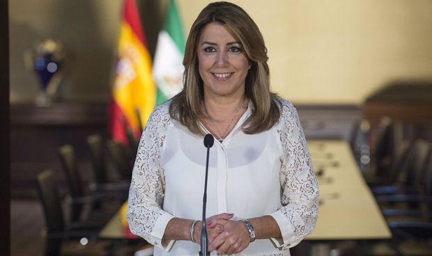 Susana Díaz anuncia 500 millones de euros más para sanidad en 2018