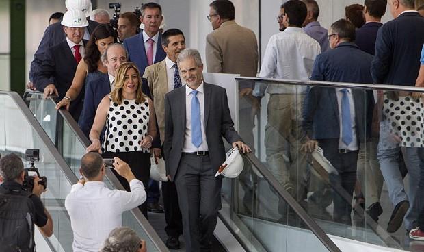 Susana Díaz confirma que el Hospital de La Línea abrirá este año