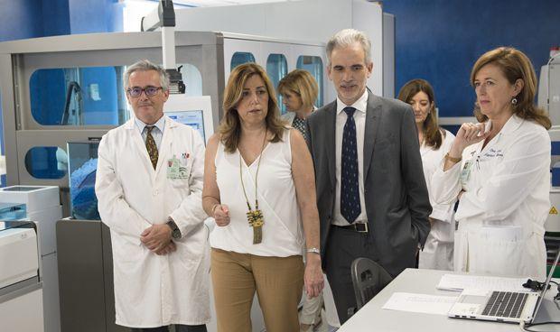 """Susana Díaz: """"El crecimiento económico previsto se reflejará en Sanidad"""""""