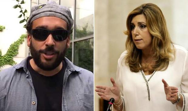 "Susana Díaz acusa a Spiriman de haber causado ""dolor"" a su familia"