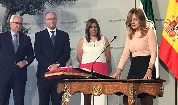 """Susana Díaz sobre la nueva consejera de Salud: """"Pido diálogo"""""""