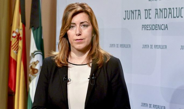 Susana Díaz twittea la sanidad pública