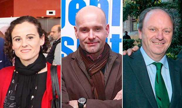 Susana García, Luis Mosquera y Javier Godoy