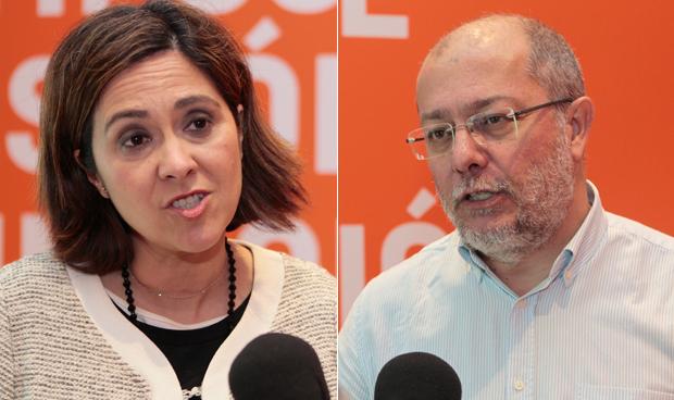 Susana Gaspar y Francisco Igea
