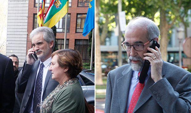 Telefonazo de Aquilino para hacer una OPE en Navarra