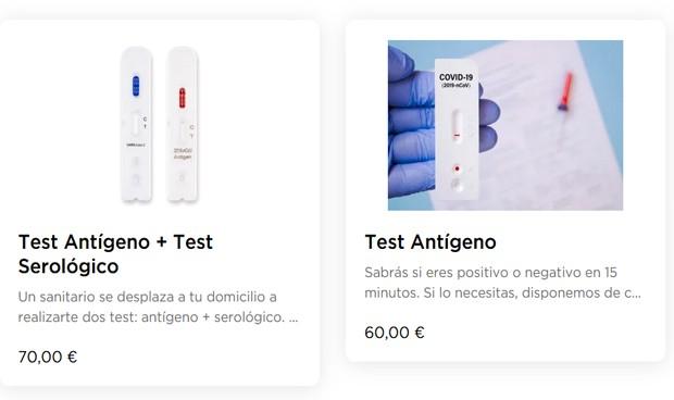 """Test Covid a domicilio: Glovo se enfrenta a """"multas por intrusismo laboral"""""""