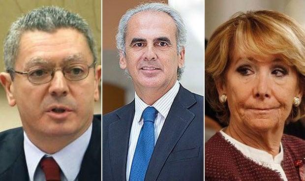 Testigos de excepción en el reencuentro entre Gallardón y Aguirre