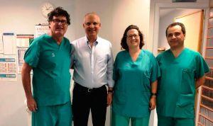 Toledo implanta una prótesis en casos de enfermedad coronaria obstructiva