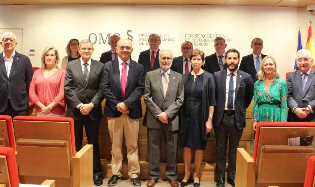 Toma de posesión en la Comisión Deontológica de los médicos españoles