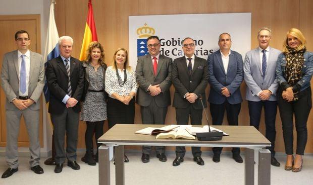 Tomás Marcial toma posesión de director del Área de Salud de Fuerteventura