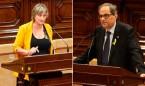 Torra delega en Vergés la retirada de símbolos nacionalistas de la sanidad