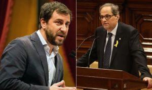 Torra nombra consejero de Salud al fugado Antoni Comín