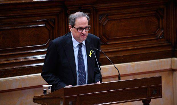 Torra, presidente de Cataluña: esto es lo (poco) que propone en sanidad