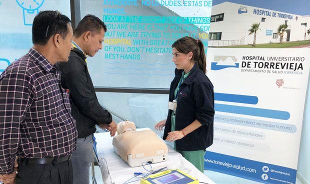 Torrevieja y Vinalopó forman en reanimación a sus profesionales y pacientes