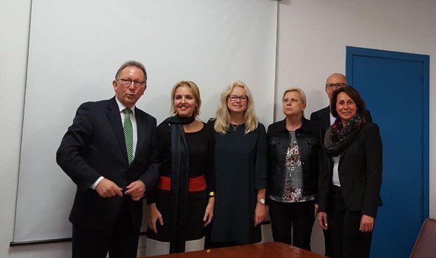 'Tournée' institucional para conocer el modelo de donación español