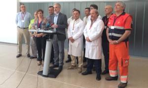 Traslado con éxito de 156 enfermos al Campus de la Salud (Granada)
