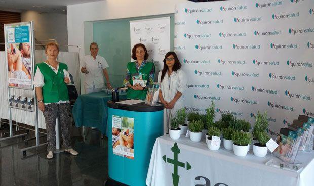 Treinta centros de Quirónsalud 'respiran vida' en el Día Mundial sin Tabaco