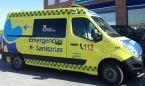 Tres heridos al chocar un ambulancia con una furgoneta