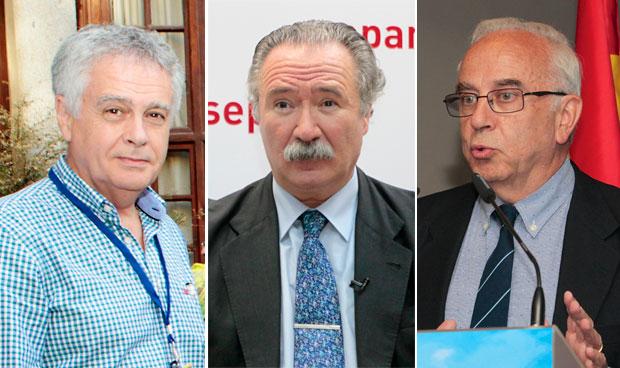 Tres hombres, candidatos a la presidencia de Separ
