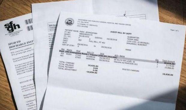 Tres horas en Urgencias, un jarabe... y una factura de 15.500 euros