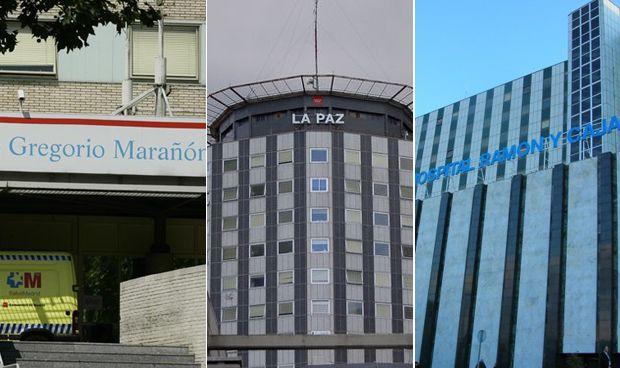 Tres hospitales de Madrid captan al 40% de los 100 MIR con mejor nota